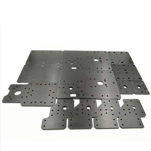 WNJ-TOOL, 1set CNC Jeux de plaques en Aluminium CLead vis Driven for Workbee Pièces routeur CNC