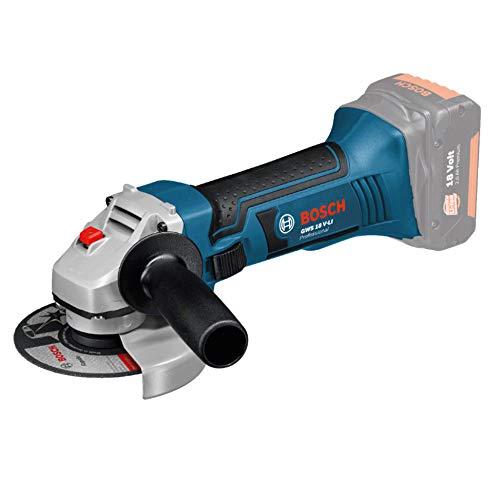 Bosch Professional 060193A300 Meuleuse d'Angle GWS 18 V-LI (18 V, sans Batterie ni Chargeur) Bleu