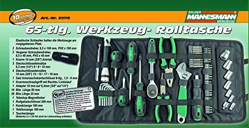 Brüder Mannesmann Werkzeuge M21170 Trousse à outils