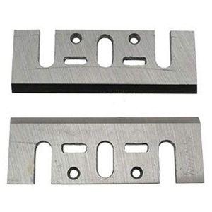 Makita A-07406 A-07406-BLister de 2 cuchillas Tipo HSS de 82 mm Para cepillos 1100 1923b kp0800 kp0810 kp0810c