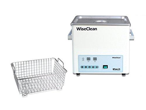 Witeg WUC-D06H Bain à ultrasons avec panier en fil et couvercle plat Sans panier