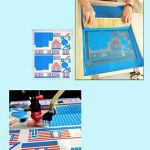 Yuhualiyi123 Villa – Kit De Construction en Bois, Casse-tête 3D, Bricolage Creative Assembly Jouets, Modèles De Papier, Jouets D'interaction Parent-Enfant (Color : 4)