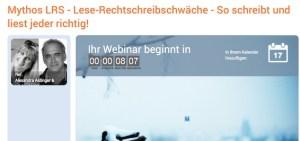 Lese-Rechtschreib-Schwäche, LRS
