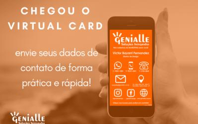 Virtual Card – Novidade da Genialle!