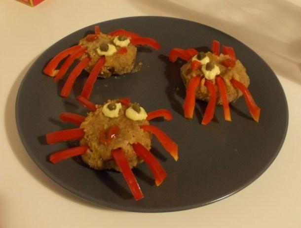 Genitorialmente | Halloween polpette ragno paurose