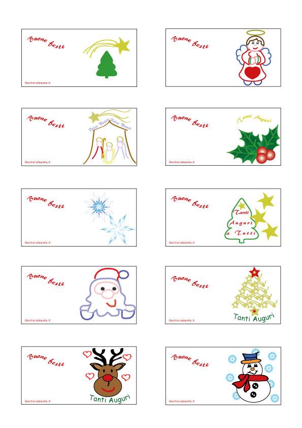 Segnaposti natalizi fai da te semplici da scaricare | Genitorialmente