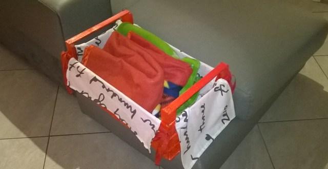 Come riciclare le cassette della frutta: porta coperta | Genitorialmente