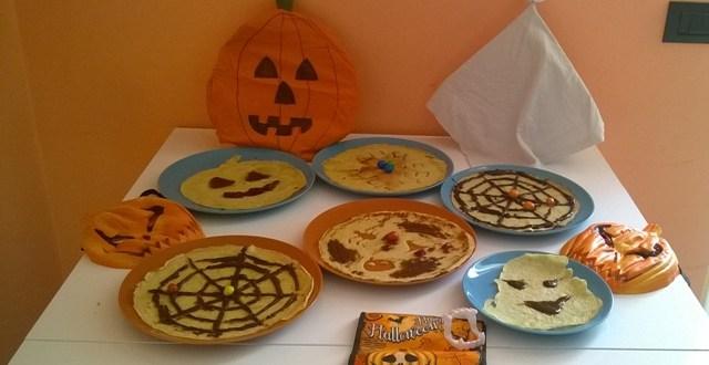 Ricette di halloween: crepes decorate | Genitorialmente