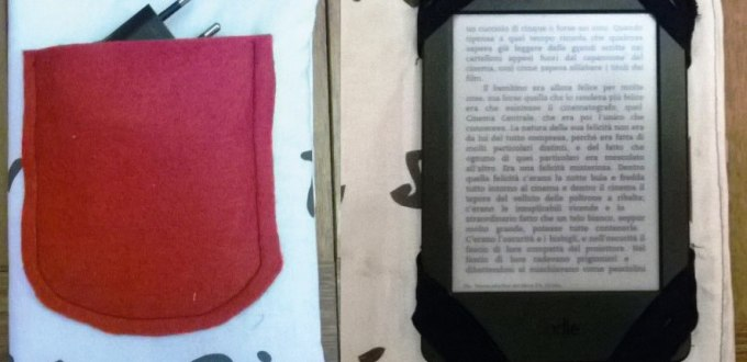 Custodia per ebook reader o tablet fai da te | Genitorialmente