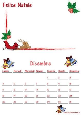 Cosa regalare a Natale ai nonni: calendario da scaricare | Genitorialmente