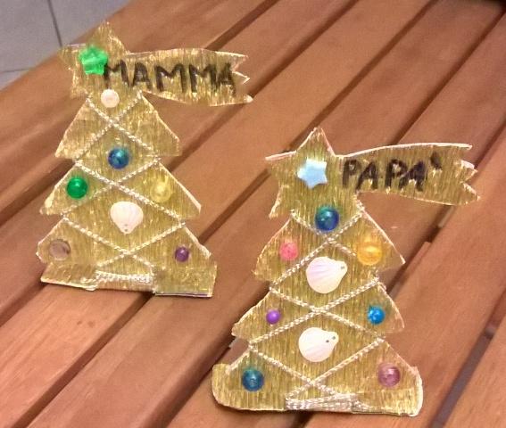 Piccoli Segnaposto Natalizi.Lavoretti Di Natale Per Bambini Segnaposti Natalizi Genitorialmente