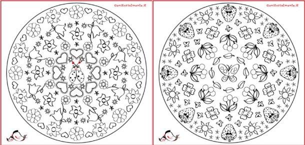 Mandala di primavera per bambini e adulti | Genitorialmente