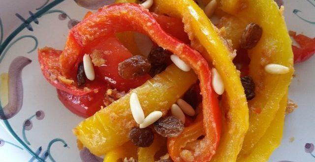 Verdure e bambini: Peperoni con mollica | Genitorialmente