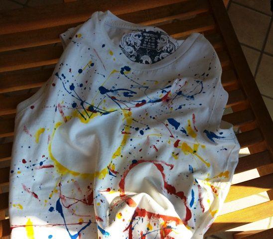 Come decorare una maglietta: idea regalo per i nonni   Genitorialmente