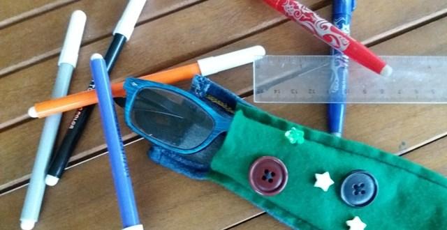 Come fare un portaocchiali o un astuccio (facile) | Genitorialmente