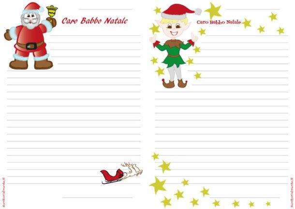 Lettera di Babbo Natale da stampare e scrivere | Genitorialmente