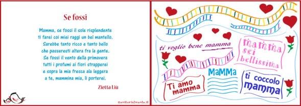 Biglietto di auguri per la festa della mamma con poesia | Genitorialmente