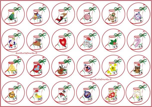 Calendario dell'avvento fai da te per bambini | Genitorialmente