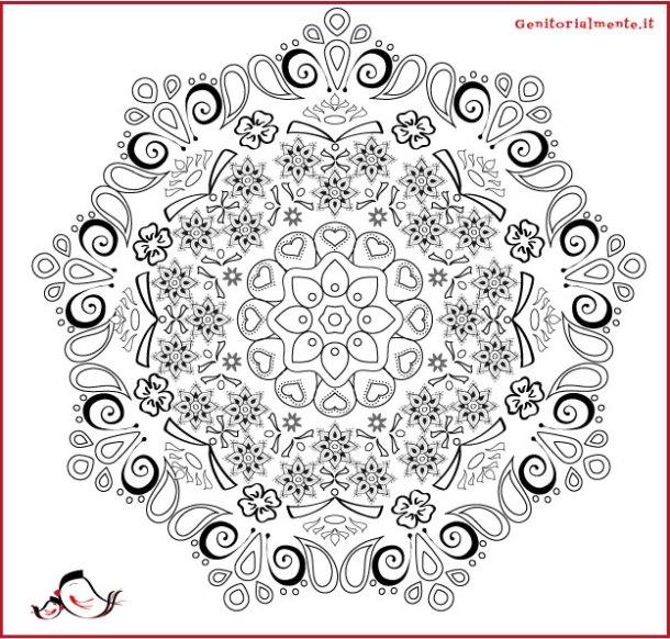 Mandala e poesia da scaricare per la festa del papà | Genitorialmente