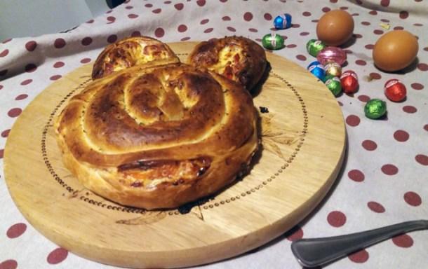 Idea per il menù di Pasqua: torta salata coniglietto | Genitorialmente