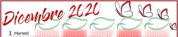 Calendario della famiglia 2020 da scaricare e stampare | Genitorialmente