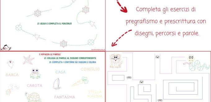 Esercizi di Pregrafismo: parole, percorsi e disegni | Genitorialmente