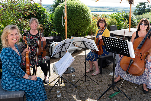 Cornwall String Quartet Classical Strings with Sue Aston