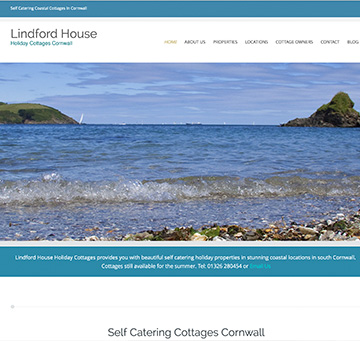 self catering SEO client cornwall