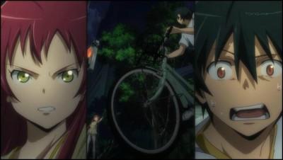Hataraku-Maou-sama-Sadao-and-female-hero
