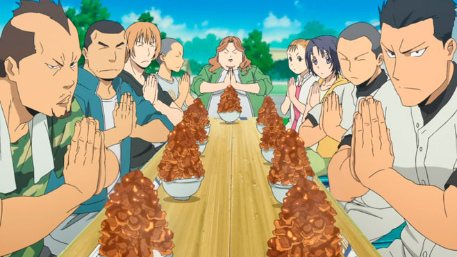 Itadakimasu! Sejamos gratos pela comida!