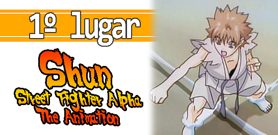 Shun Street Fighter Alpha The Animation