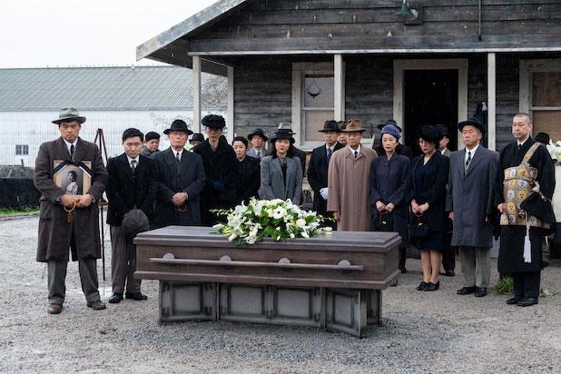 the terror: infamy - funeral