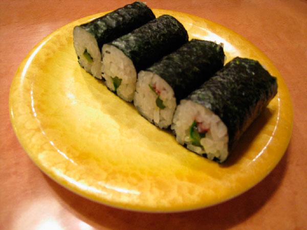 minha culinária nipo-brasileira: makizushi