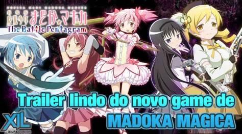 MadokaMagicaActionGameTrailer