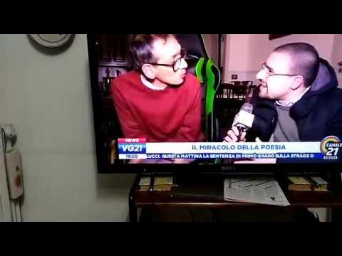 Gennaro Morra al telegiornale di Napoli Canale 21 dell'11 gennaio 2019