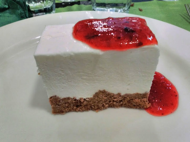 cheese cake con prescinsoa