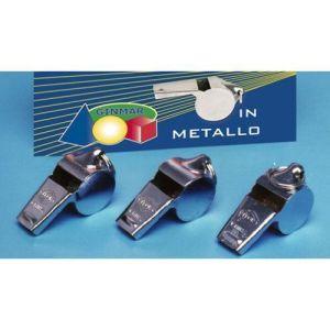 12 pezzi Fischietto Metallo C/gancetto C.12 5cm   Made In China - Hs Code: 92089000