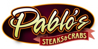 Pablo's Steaks and Crabs Logo