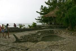 Picnic Area of Sabang Sulfur Hot Springs