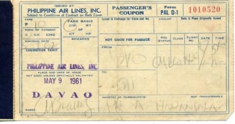 Dad's Cheap Davao-GenSan Plane Fare