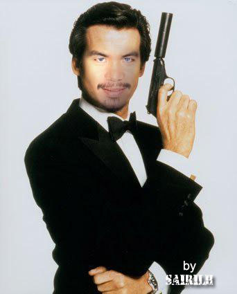 Pacquiao Funny Picture - James Bond