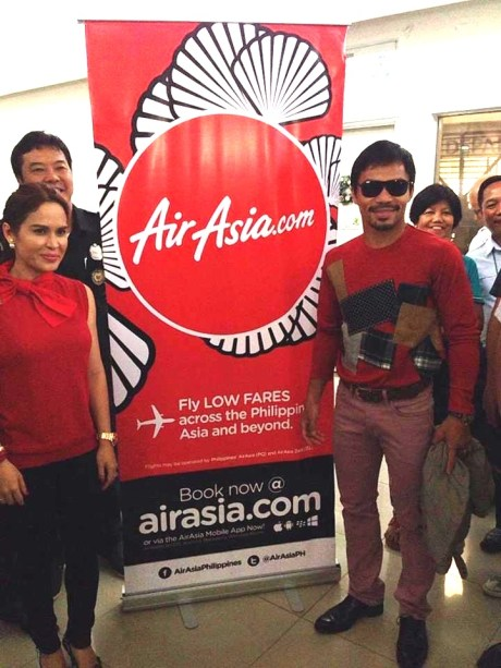 manny pacquiao airasia