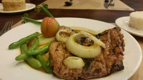 COTTON BOWL GRILL'S BANGUS STEAK