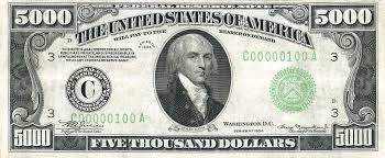 5000 us dollars