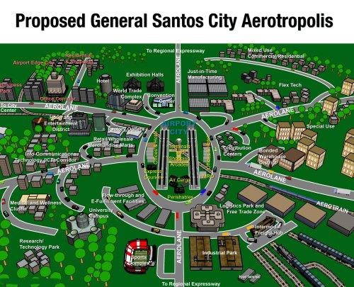 Gensan Aerotropolis, Gensan Airport Complex