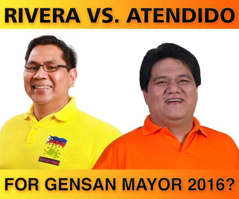 Rivera vs Atendido for Gensan Mayor