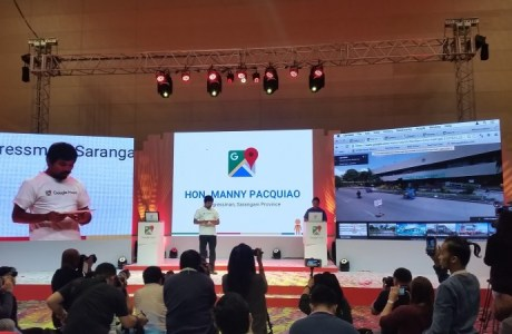 Pacquiao leads activation of Google Street View in the Phils, including Gensan & Sarangani, the first ones in Mindanao