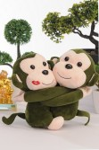 Lots of hugs from monkey friends from SM Children's Accessories.