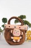 Fun monkey handbags with studs.