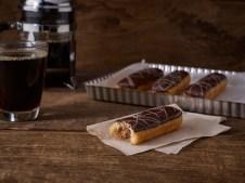 Chocolate Doughnut Eclair